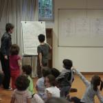 Los niños y niñas en MUSICOSOPHIA de la mano de Hubert