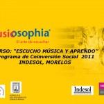 "México: Curso ""Escucho música y aprendo"""
